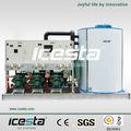 Icesta 15 tonnes commerciale fabrication de glace de la machine à glaçons plantes