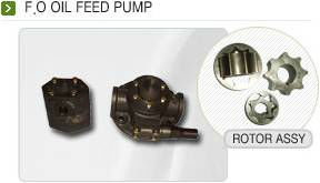 F.O OIL FEED PUMP