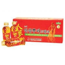 Korean ginseng roots drink