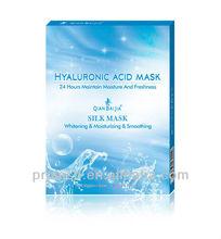 nuovo prodotto di porcellana piccole molecole di acido ialuronico maschera facciale maschera di seta