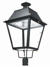 2012 new design post top light garden light LED availbale