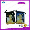 Embroidery lady satin jewelry bag for gifts