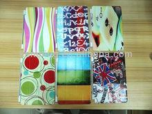 Fashion smart cover leather case for iPad2/3/4/mini, customize any photo