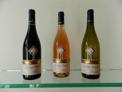 burgundy VDT Rose wine