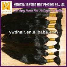 Zury 100% silky human bulk hair for braiding 18inch,natural color