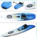 Sentar-se no caiaque superior/kayak single/caiaque de pesca