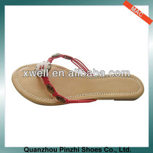 2013 Promotion PU Flip Flops for Women