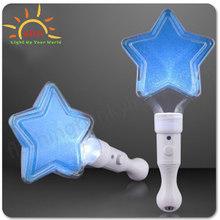 LED lighting BLUE LUCKY STAR WANDS