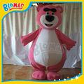 rosa bär lotso maskottchen kostüme toy story