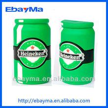 PVC beer bottle shape usb flash drive promotional gifts