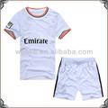 new kids madrid home futebol jersey design famoso jogador de futebol nome camisa branca simples camisa de futebol