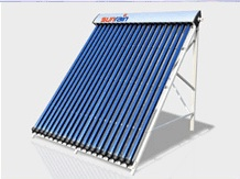 Solar water heaters collectors panels