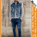 Nombre de marca de pantalones vaqueros de mezclilla ofrece chalecos para auténticos hombres pantalones vaqueros de mezclilla tapas( hyj20)