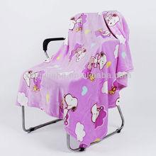 Hot Style Cartoon Design Poral Fleece children Blanket/baby blanket