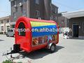 De comida rápida van para la venta/y carros de venta/alimentos fabricante de camiones/hot dog carros de venta ys-fv300-2