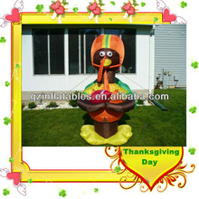 Thanksgiving Day commercial inflatable turkey cartoon
