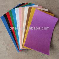 Color Polyester felt 1mm