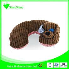 Cute animal design travel pillow for kids