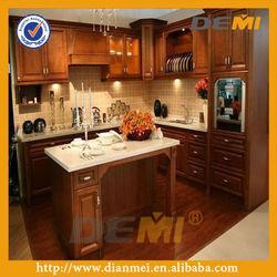 modern solid wood kitchen cupboard design