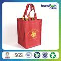 venta caliente nuevo diseñado bolsa de tela de saco de yute botella de vino bolsa de yute con ventana de pvc
