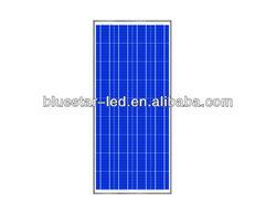 Portable high efficiency poly 130w pv solar panel