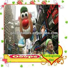sky float inflatable potato cartoon for Happy Turkey Day