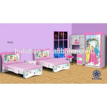 wooden double bed design for girls