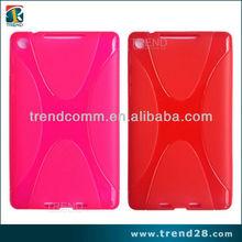 X shape design tpu mobile phone skins for google nexus 7 II
