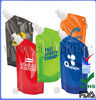 new style plastic bottle shaped pouch for drink