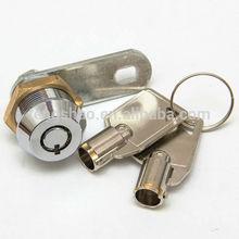 push pin lock tubular brass lock with cam