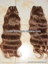 Indian hair weft machine/Blonde human hair extension/ cheap Indian human hair weave