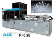 ISBM machine PF6 - 2B for complete PET bottle production line