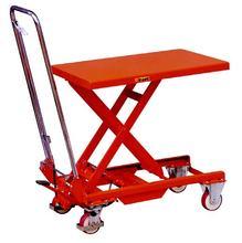 Roadway safety wide pallet pump truck safety
