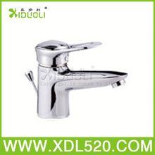 brass chrome faucet/waterfall wash basin faucet handle/shower slider bar