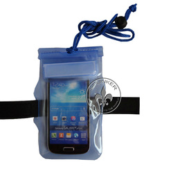 Zipper Armband Waterproof Cell Phone Dry Bag Pouch Case For Iphone 5 P5526-24
