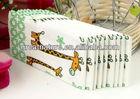 Cute animal print paper napkins