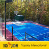 PP interlocking sports Outdoor Basketball Court Floor