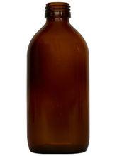 235 ml Oval Amber Glass Bottle