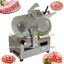 Industrial frozen beef/mutton slicer