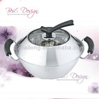 Double Bottom Stainless Steel Multi-functional Thermal Pot