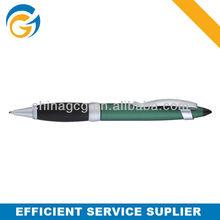 2 Color Silver Stylus Clip Business Metal Ball Pen