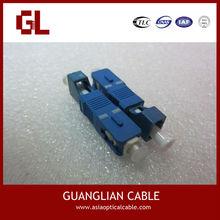 Manufacturer SC/FC/ST/LC/RCA/SMA/E2000 st optical fiber adapter with high quality