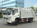 3 ton compactador de basura camiones FOTON Forland Mini camión