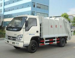 3 ton Compactor Garbage Truck FOTON Forland Mini Waste Truck