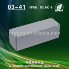 aluminium speaker enclosure