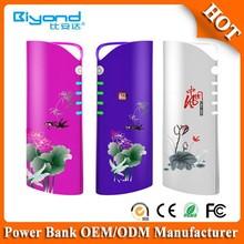 Factory unique design custom power bank 5200mAh
