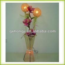 European flower rattan lamp shade