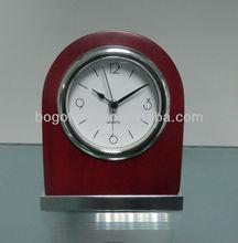 Hotel Wood alarm clock
