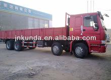 371hp12 wheel sinotruk howo cargo truck 8x4