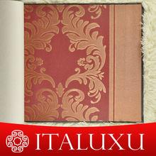 new materials interior design damask pattern vinyl wallpaper for bathroom ITALUXU 53 width FREE SAMPLES PROVIDED